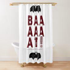 BAT! Shower Curtain
