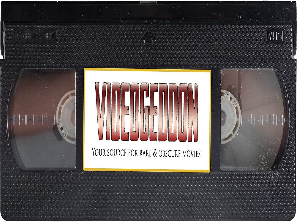 VIDEOGEDDON VHS LOGO by videogeddon