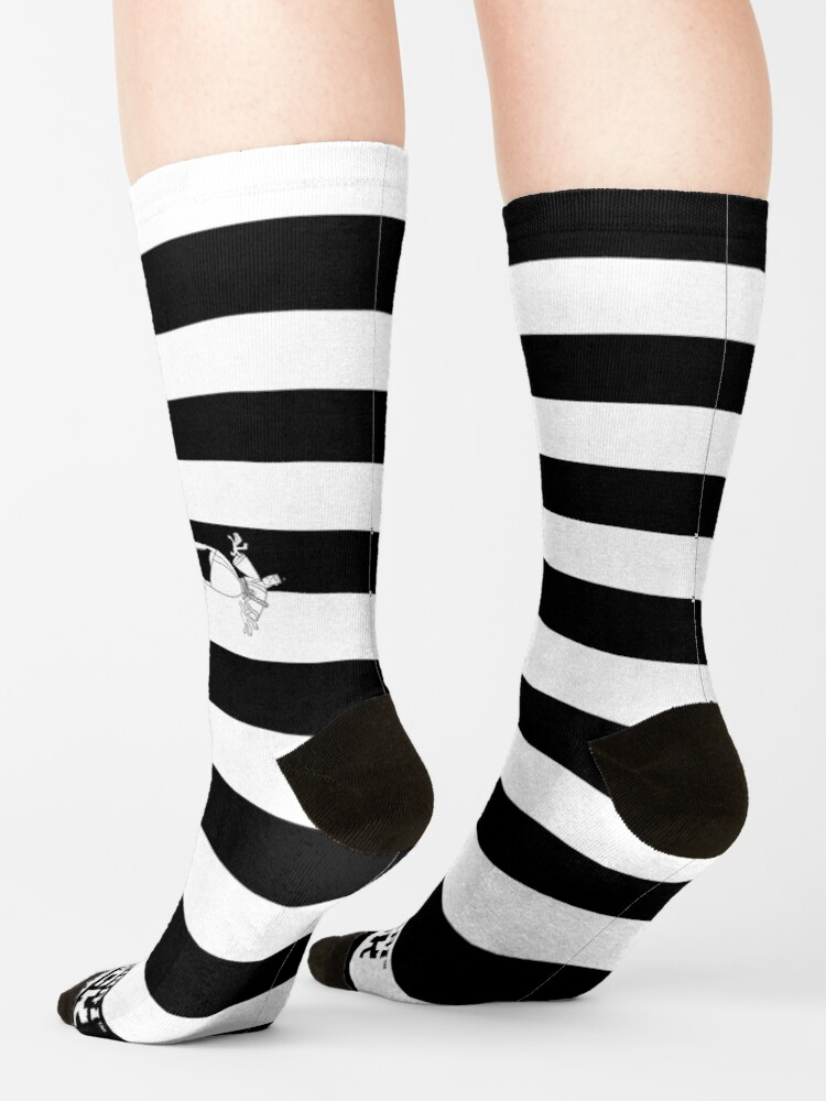 """Alternate view of """"Flung Him Into the Future"""" Socks Socks"""