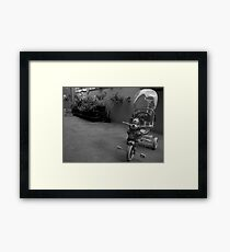 Ride the Tricycle  Framed Print