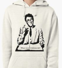 What would Atticus do?  Pullover Hoodie