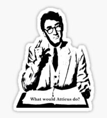 What would Atticus do?  Sticker