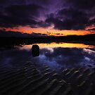 Reflection On The Beach by Leon Ritchie