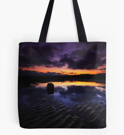 Reflection On The Beach Tote Bag