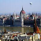 Hungarian Parliament by Benjamin Sloma
