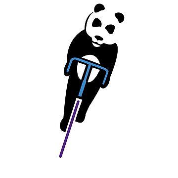 Panda Fixie by soulcat