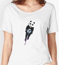 Panda Fixie Women's Relaxed Fit T-Shirt