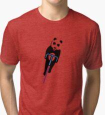 Panda Fixie Tri-blend T-Shirt