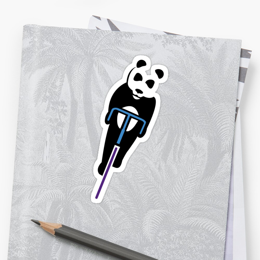 Panda Fixie by Mike Sullivan
