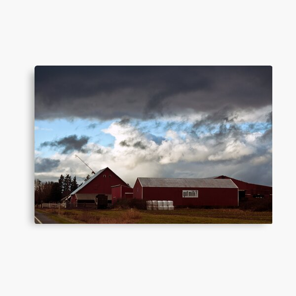 Beautiful Cloud Formations Canvas Print