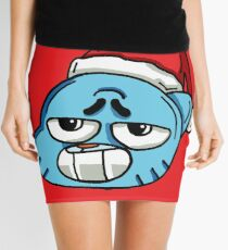 The Amazing World of Gumball™ Christmas Themed Art Mini Skirt