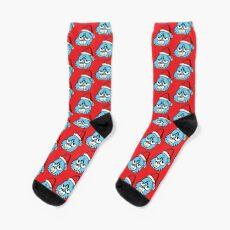The Amazing World of Gumball™ Christmas Themed Art Socks