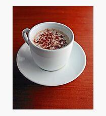 Cappuccino  Photographic Print