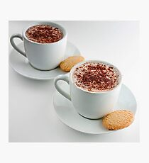 Cappuccino Time Photographic Print