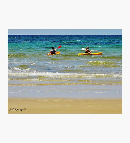 Wave Riding Photographic Print
