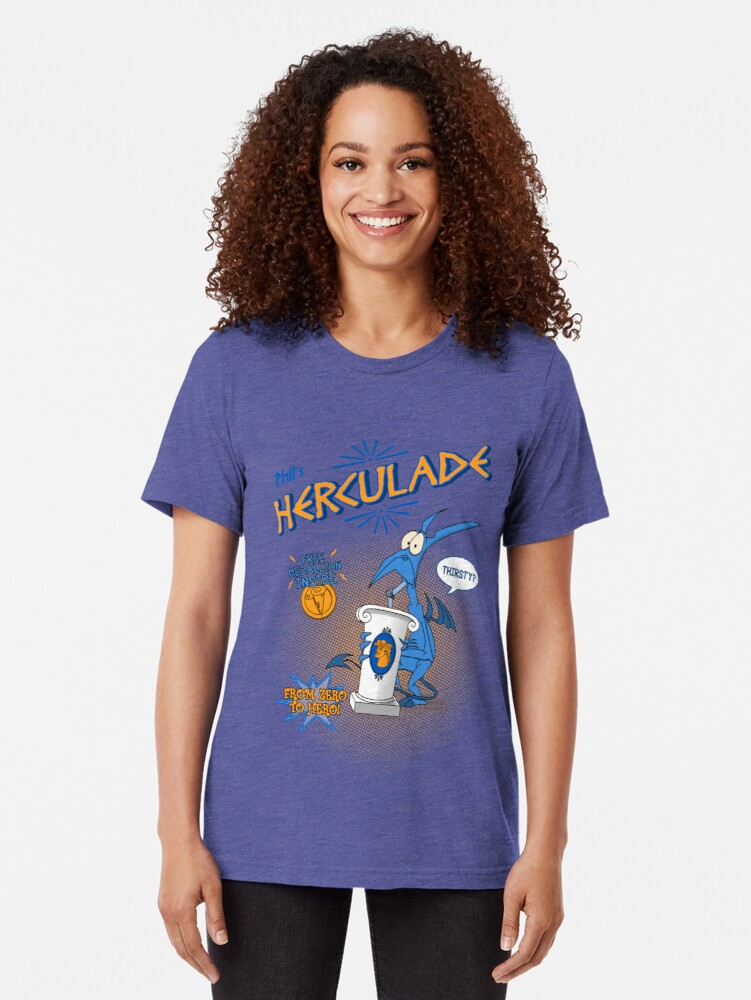 Alternate view of Herculade Tri-blend T-Shirt