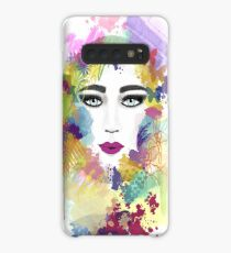 Colorful face Case/Skin for Samsung Galaxy