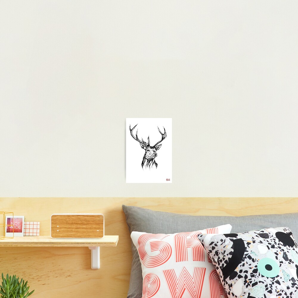 Impression photo « My Deer - Art Print - Home Decor»