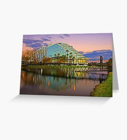 Burswood Casino - Western Australia  Greeting Card