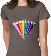 Equality Fan Fitted T-Shirt