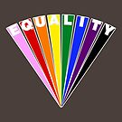 Equality Fan by technoqueer