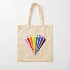 Equality Fan Cotton Tote Bag