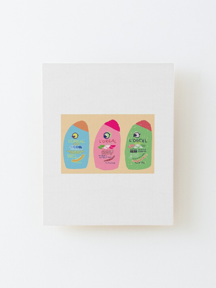 Alternate view of 2-in-1 fruit smoothie Mounted Print