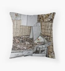 Contamination  Throw Pillow