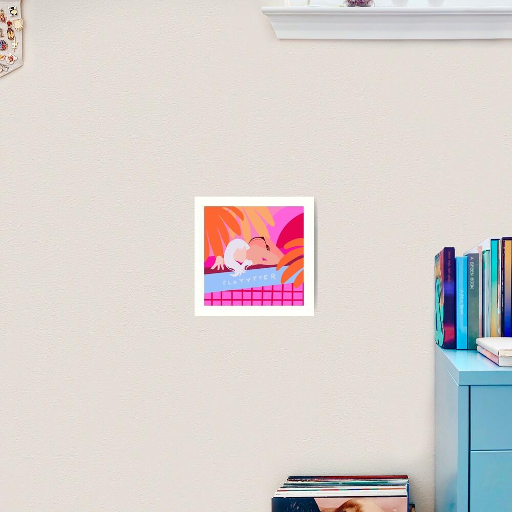 slayyyter Art Print