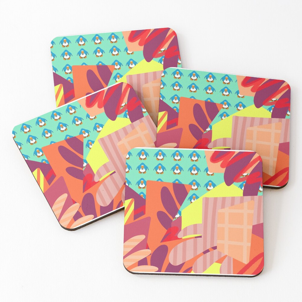 party in my iggy  Coasters (Set of 4)