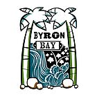 Byron Bay - Tiki Oasis (White) by Kirsten Chambers