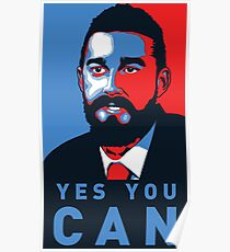 President Labeouf Poster