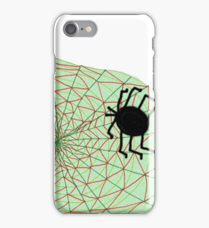 The Spider and the Web iPhone Case/Skin