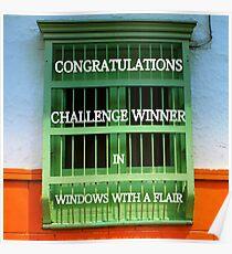BANNER FOR WINDOWS Poster