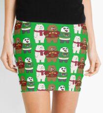 We Bare Bears Mini Skirt