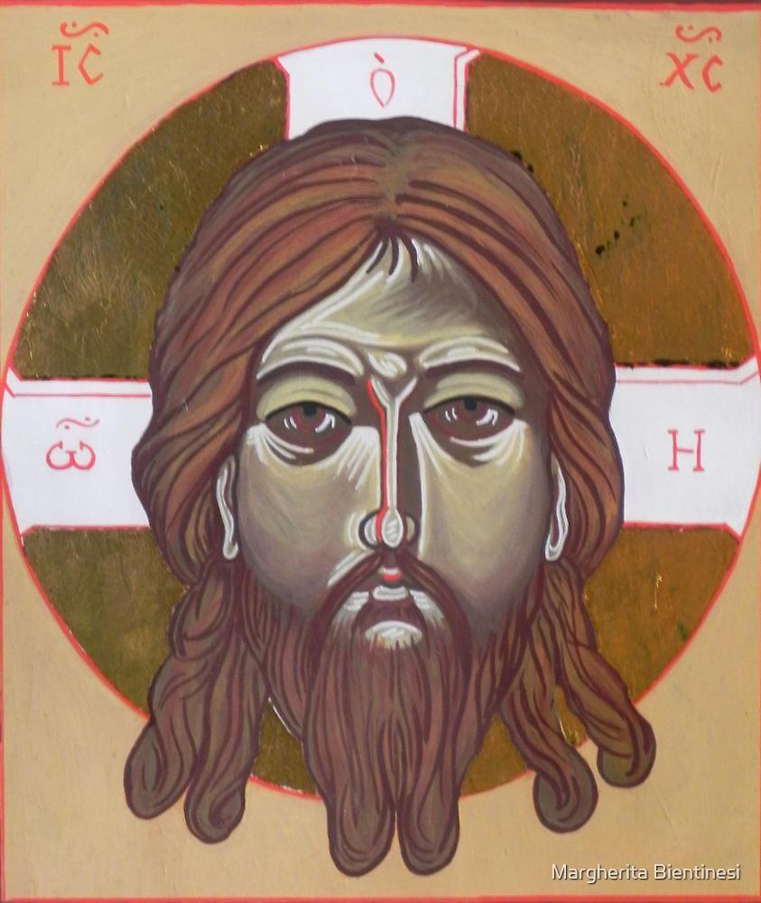 Icona del volto di Cristo by Margherita Bientinesi