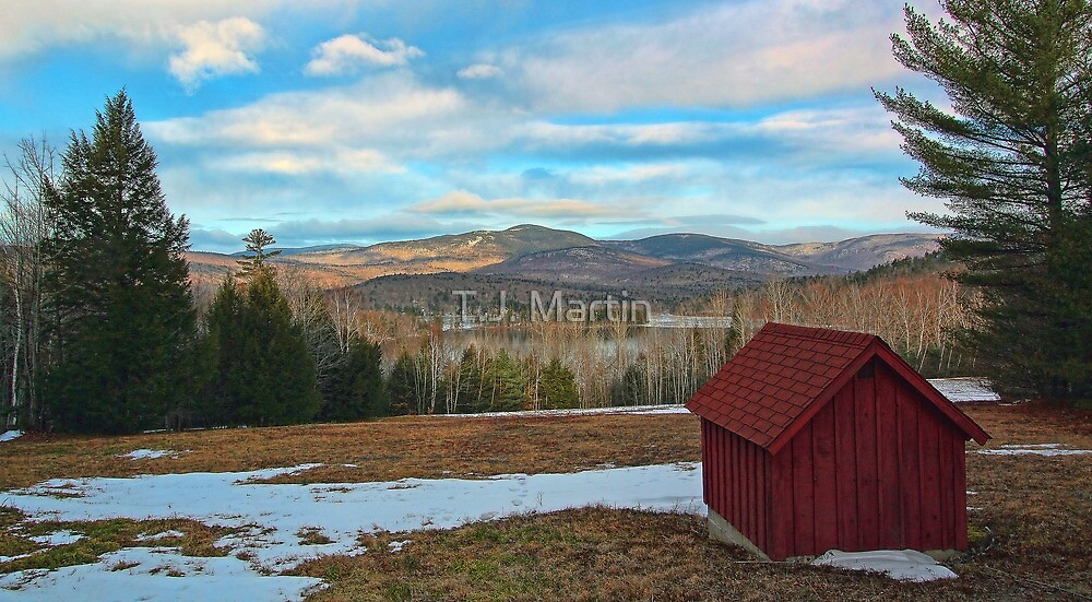 View of Kezar Lake & The Foothills by T.J. Martin