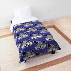 Dog Man and Cat Kid Comforter