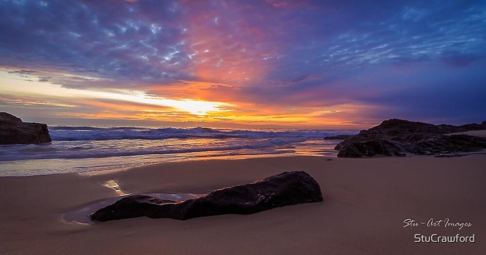Sunrise at Froggies Beach by StuCrawford