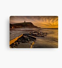 Kimmeridge Bay Canvas Print
