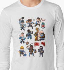 Team Fortress 2 / SD All Class Long Sleeve T-Shirt
