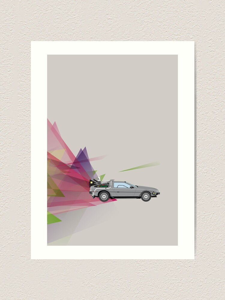 Alternate view of Back to the Future Art Print