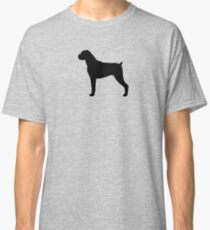 Boxer Dog Silhouette(s) Classic T-Shirt