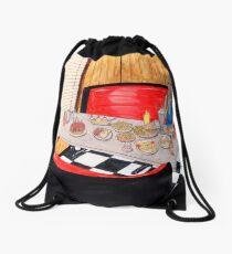 Foodies Dream Drawstring Bag