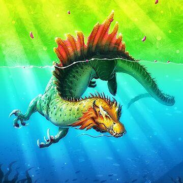 Draco Spinus by FredWierum