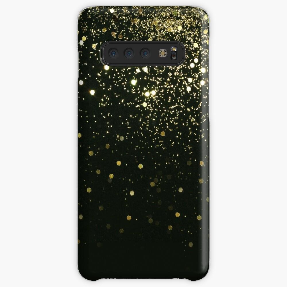 Sparkling Gold Glitter Glam #2 #shiny #decor #art  Case & Skin for Samsung Galaxy