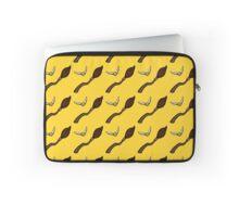 Quidditch Pattern (Hufflepuff) Laptop Sleeve