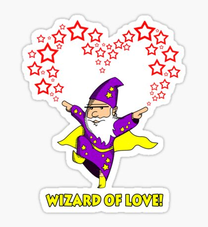 Wizard of Love! Sticker