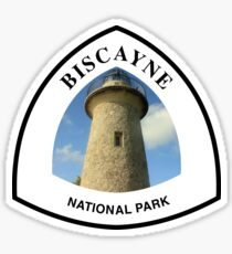Biscayne National Park shield Sticker