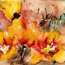 Warm Cactus Flowers - Cactus Flower Series by Blended